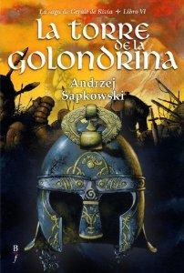 Portada de LA TORRE DE LA GOLONDRINA (LA SAGA DE GERALT DE RIVIA #6)