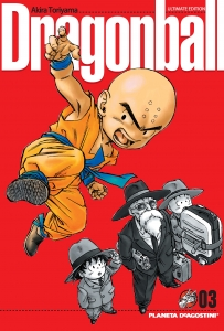 Portada de DRAGON BALL (ULTIMATE EDITION #3)