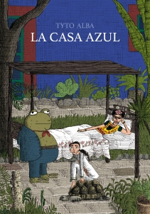Portada de LA CASA AZUL