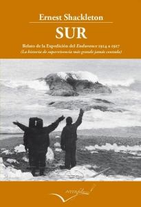 Portada de SUR, RELATO DE LA EXPEDICIÓN DEL ENDURANCE. DE 1914 A 1917