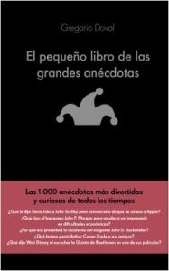 Portada de EL PEQUEÑO LIBRO DE LAS GRANDES ANÉCDOTAS
