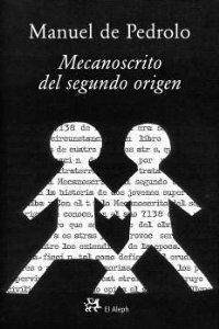 Portada de MECANOSCRITO DEL SEGUNDO ORIGEN