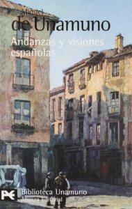 Portada de ANDANZAS Y VISIONES ESPAÑOLAS