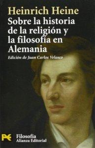 Portada de SOBRE LA HISTORIA DE LA RELIGIÓN Y LA FILOSOFÍA EN ALEMANIA