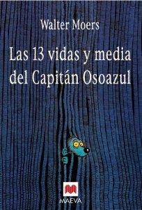 Portada de LAS 13 VIDAS Y MEDIA DEL CAPITÁN OSOAZUL