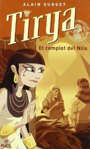 Portada de TIRYA Y EL COMPLOT DEL NILO