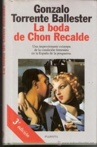 Portada de LA BODA DE CHON RECALDE