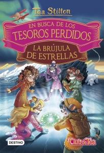 Portada de EN BUSCA DE LOS TESOROS PERDIDOS 2: LA BRÚJULA DE ESTRELLAS