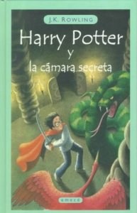Portada de HARRY POTTER Y LA CÁMARA SECRETA (HARRY POTTER #2)