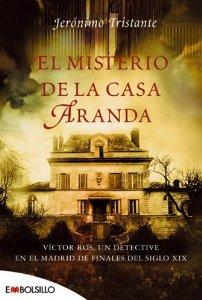Portada de EL MISTERIO DE LA CASA ARANDA (VÍCTOR ROS  #1)
