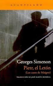 PIETR EL LETÓN (COMISARIO MAIGRET#1)