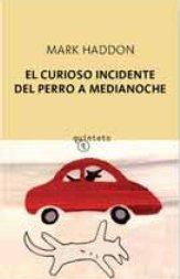 Portada de EL CURIOSO INCIDENTE DEL PERRO A MEDIANOCHE