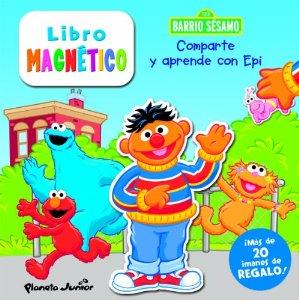 BARRIO SESAMO. COMPARTE Y APRENDE CON EPI (LIBRO MAGNÉTICO)