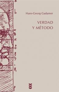 Portada de VERDAD Y MÉTODO