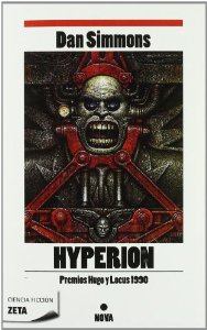 Portada de HYPERION (LOS CANTOS DE HYPERION #1)
