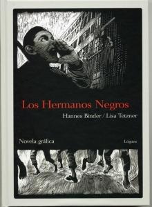 Portada de LOS HERMANOS NEGROS: NOVELA GRÁFICA