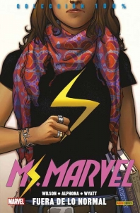 Portada de MS. MARVEL. FUERA DE LO NORMAL