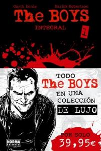 Portada de THE BOYS INTEGRAL 1