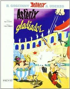 Portada de ASTÉRIX GLADIADOR (ASTÉRIX #4)