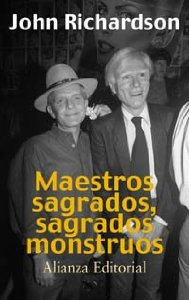 Portada de MAESTROS SAGRADOS, SAGRADOS MONSTRUOS
