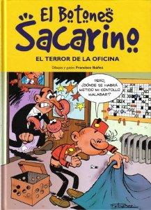 Portada de EL BOTONES SACARINO: EL TERROR DE LA OFICINA