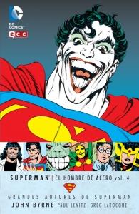 Portada de SUPERMAN: EL HOMBRE DE ACERO (GRANDES AUTORES DE SUPERMAN: JOHN BYRNE #4)