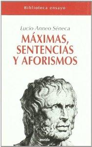 Portada de MÁXIMAS, SENTENCIAS Y AFORISMOS