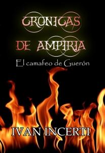 Portada de CRÓNICAS DE AMPIRIA: EL CAMAFEO DE GUERÓN