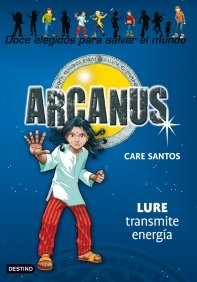 Portada de LURE TRANSMITE ENERGÍA (ARCANUS #5)