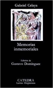 Portada de MEMORIAS INMEMORIALES