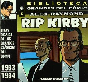 Portada de BIBLIOTECA GRANDES DEL CÓMIC. RIP KIRBY 5 (RIP KIRBY#5)
