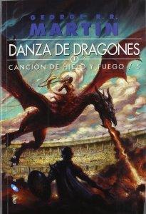 Portada de DANZA DE DRAGONES (CANCIÓN DE HIELO Y FUEGO #5)
