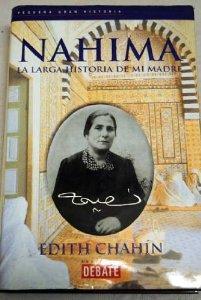 Portada de NAHIMA: LA LARGA HISTORIA DE MI MADRE