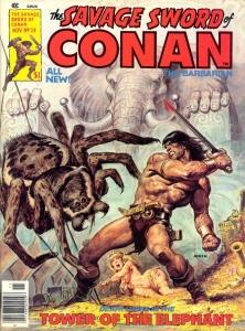 La Espada Salvaje de Conan. LA TORRE DEL ELEFANTE y otras historias ( LA ESPADA SALVAJE DE CONAN#8 )