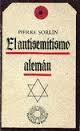 Portada de EL ANTISEMITISMO ALEMÁN