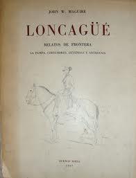 Portada de LONCAGÜÉ. RELATOS DE FRONTERA