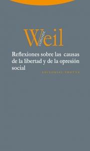 Portada de REFLEXIONES SOBRE LAS CAUSAS DE LA LIBERTAD Y DE LA OPRESIÓN SOCIAL