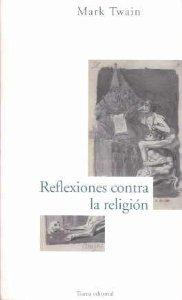 Portada de REFLEXIONES CONTRA LA RELIGIÓN