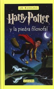 Portada de HARRY POTTER Y LA PIEDRA FILOSOFAL (HARRY POTTER #1)