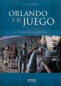 Portada de LA DANZA DE LOS ERRANTES (ORLANDO Y EL JUEGO #4)