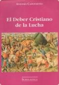 Portada de EL DEBER CRISTIANO DE LA LUCHA