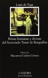 Portada de RIMAS HUMANAS Y DIVINAS DEL LICENCIADO TOMÉ DE BURGUILLOS