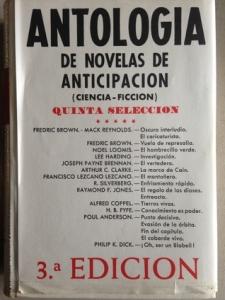 Portada de ANTOLOGÍA DE NOVELAS DE ANTICIPACIÓN 5
