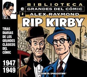 BIBLIOTECA GRANDES DEL CÓMIC. RIP KIRBY 2 (RIP KIRBY#2)