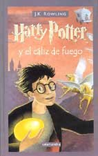 Portada de HARRY POTTER Y EL CÁLIZ DE FUEGO (HARRY POTTER #4)