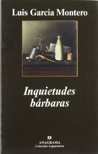 Portada de INQUIETUDES BÁRBARAS