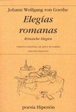 Portada de ELEGÍAS ROMANAS. RÖMISCHE ELEGIEN
