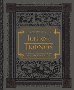 Portada de EL LIBRO OFICIAL DE JUEGO DE TRONOS