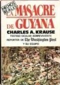 Portada de LA MASACRE DE GUYANA