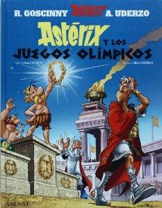 Portada de ASTÉRIX Y LOS JUEGOS OLÍMPICOS (ASTÉRIX #12)